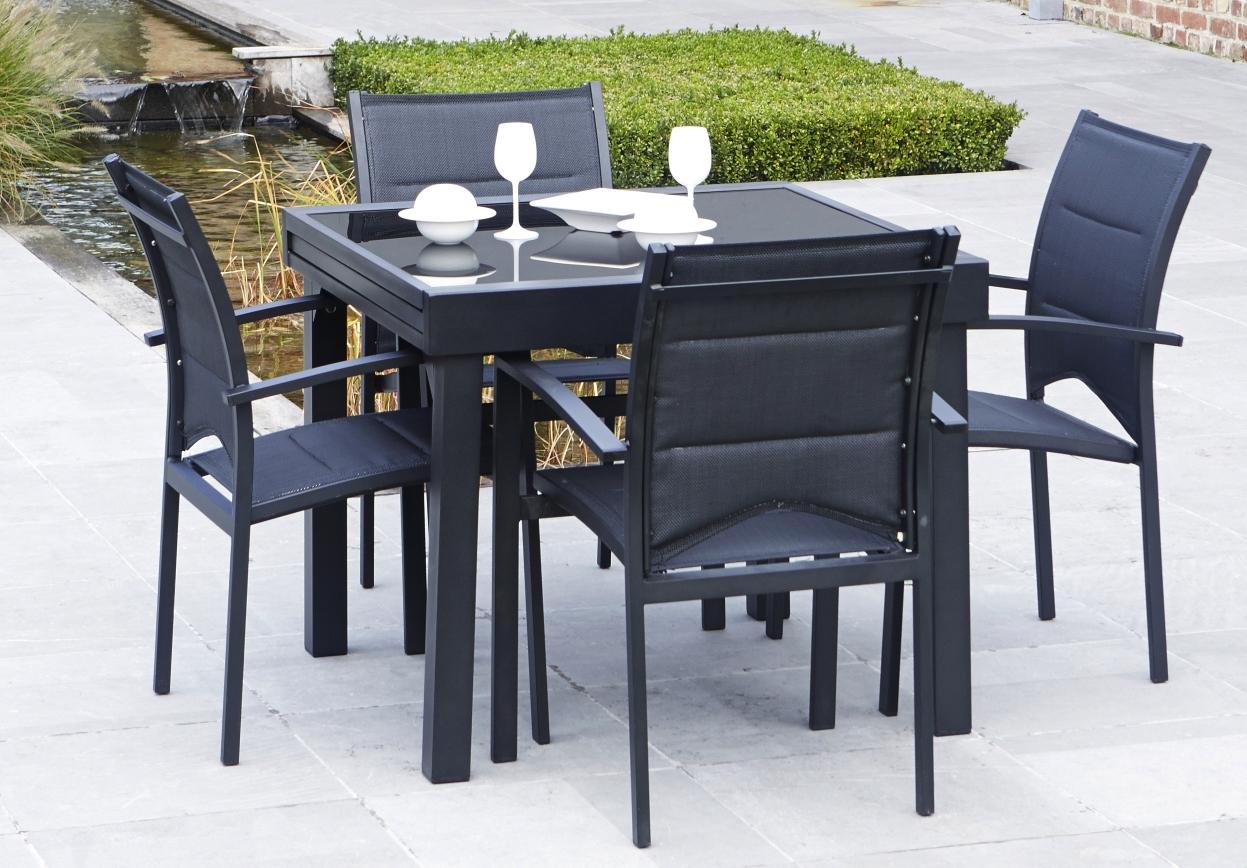 Jardin Personnes Table Rallonge Avec 4 De 3AR4qL5j