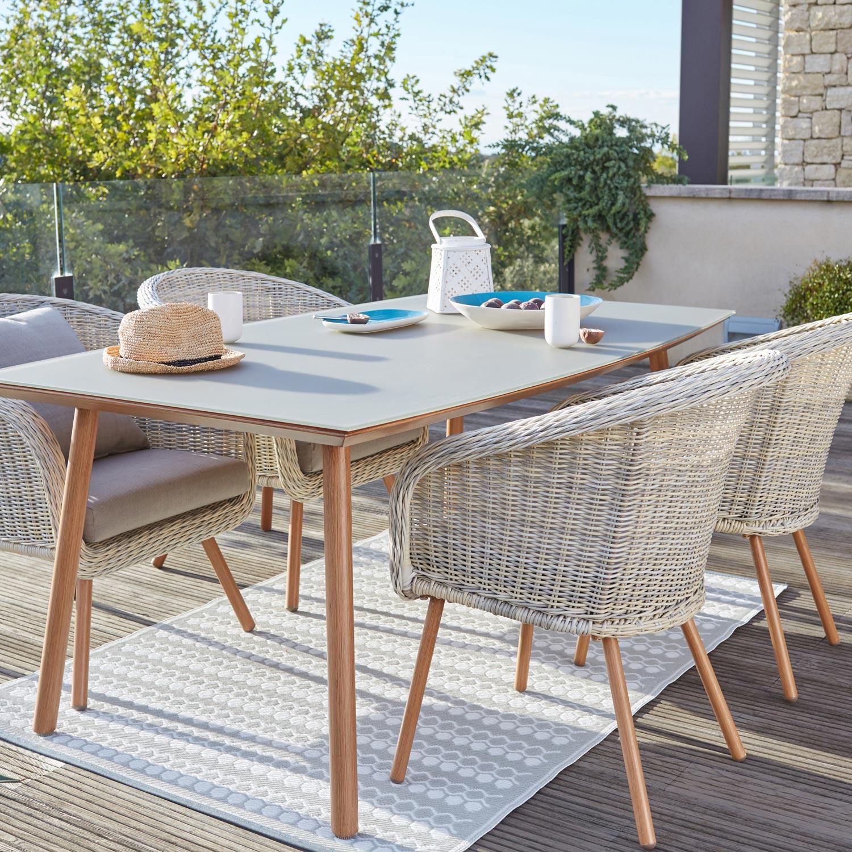 table de jardin 4 personnes castorama