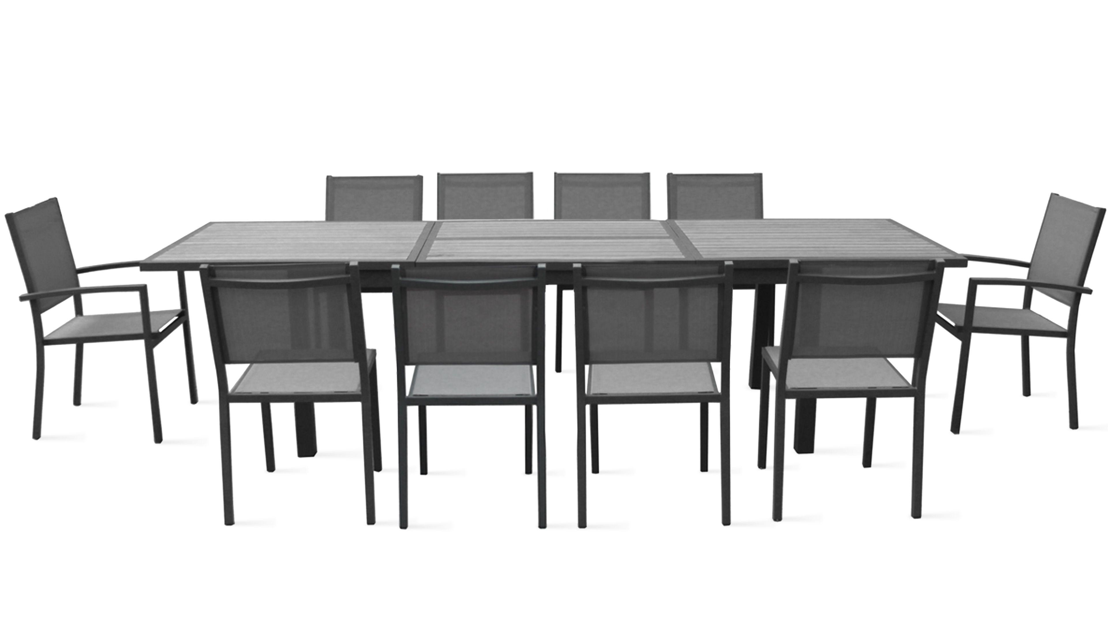 table de jardin 6 a 10 personnes