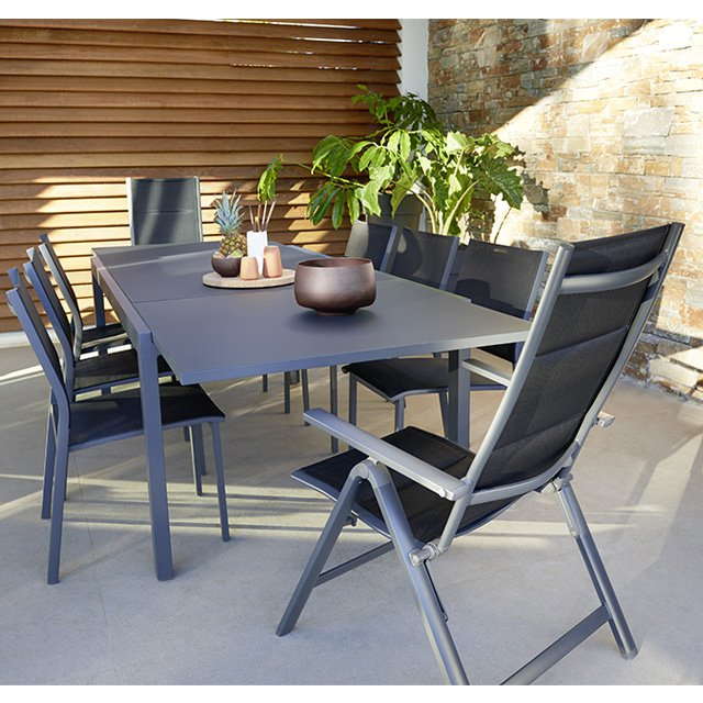 table de jardin 6 personnes castorama