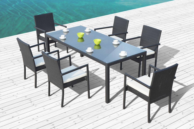 table de jardin 6 personnes