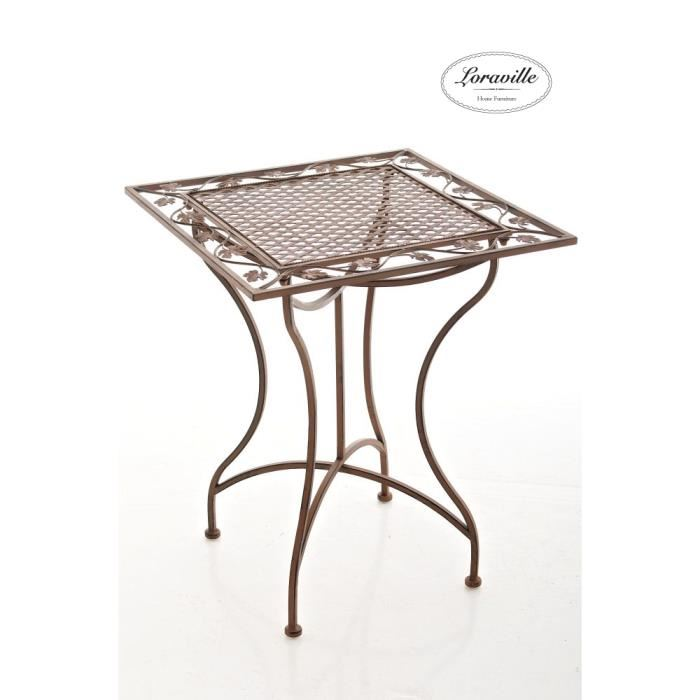 table de jardin 60 x 60