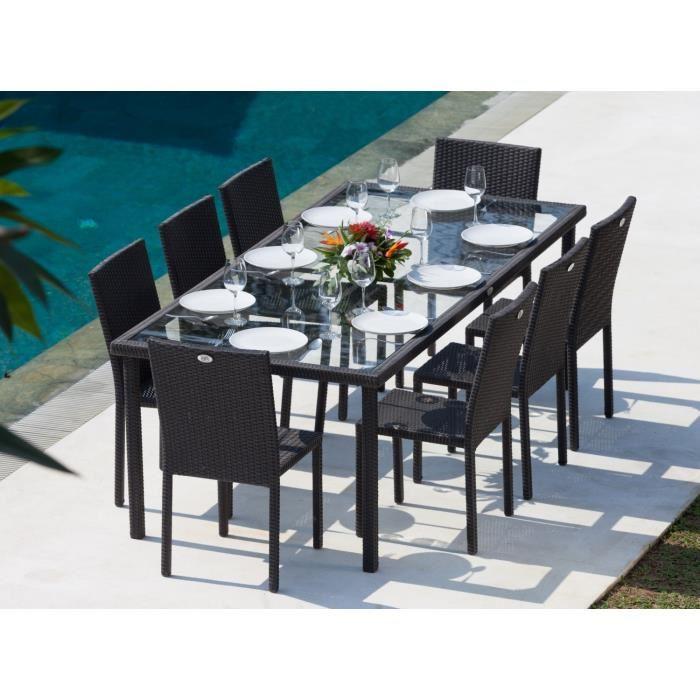 table de jardin 8 chaises