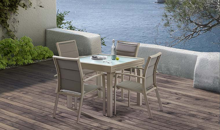 table de jardin 8 couverts