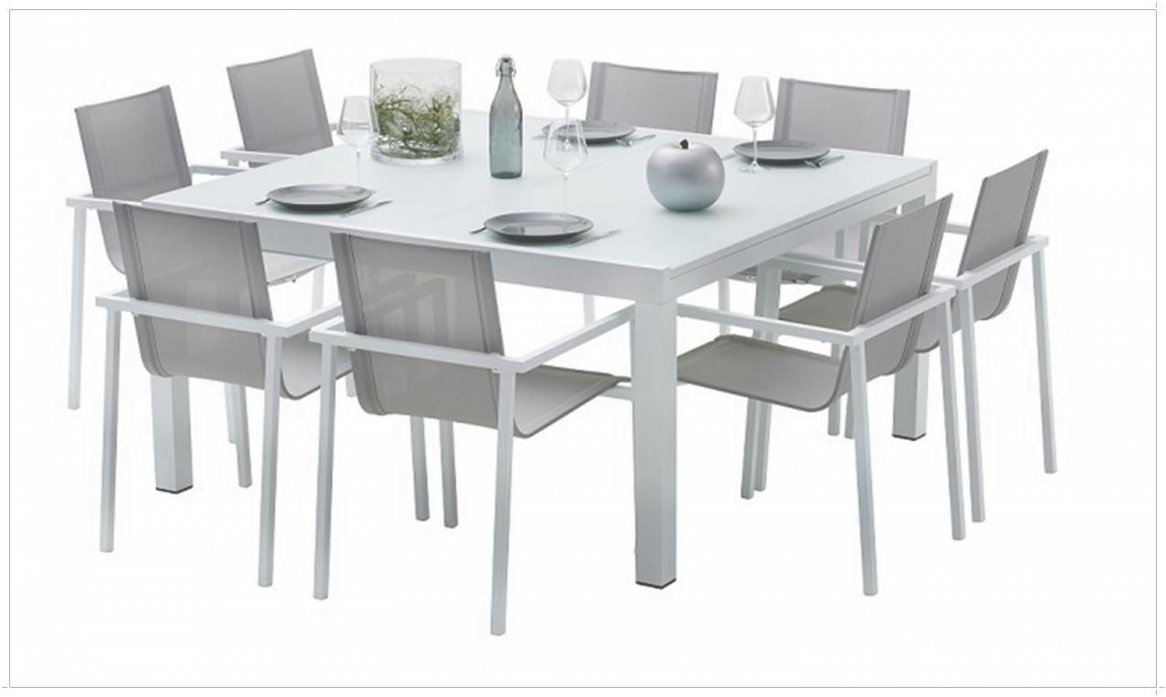 table de jardin 8 personnes carree