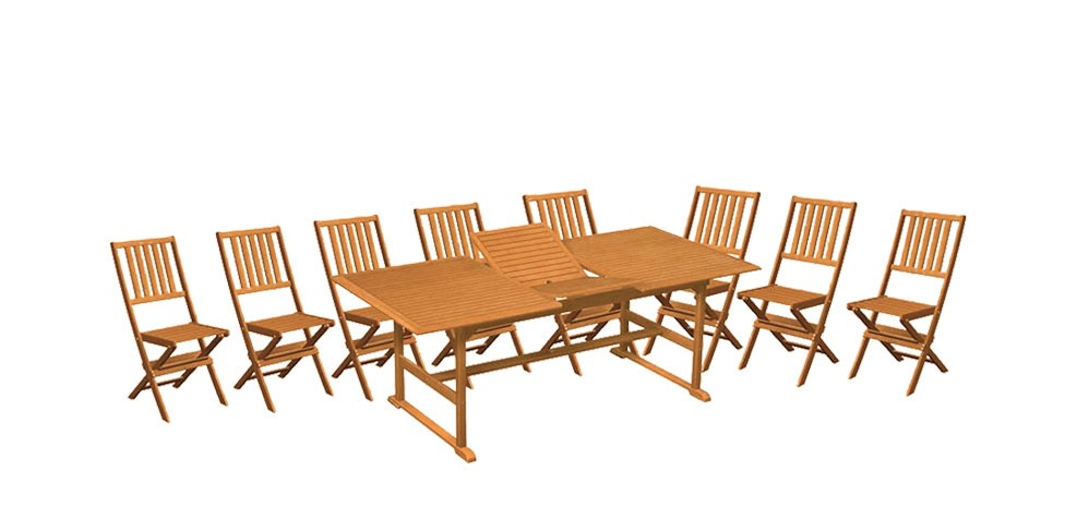 table de jardin 8 personnes pliante