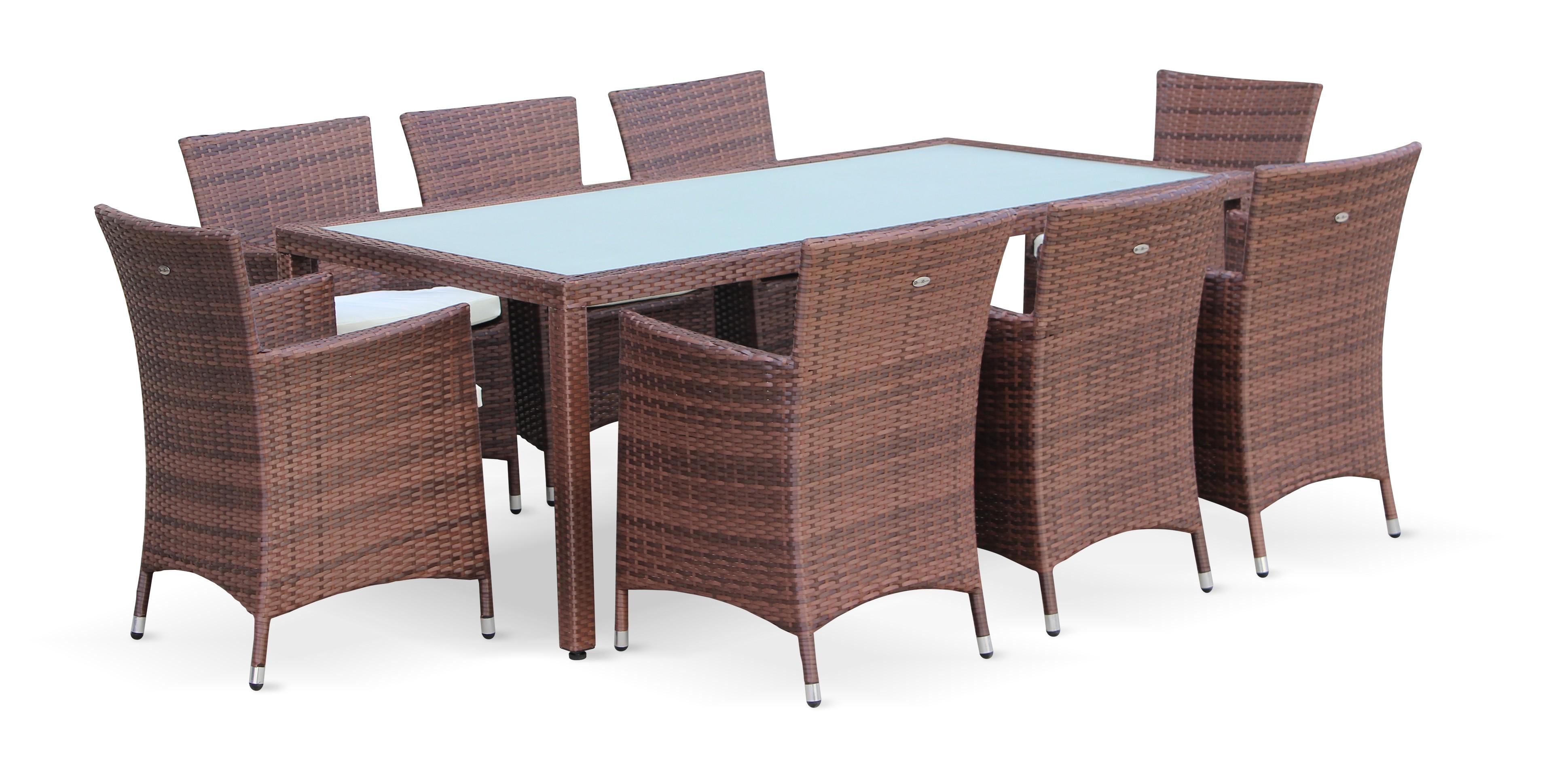 table de jardin 8 places- capri