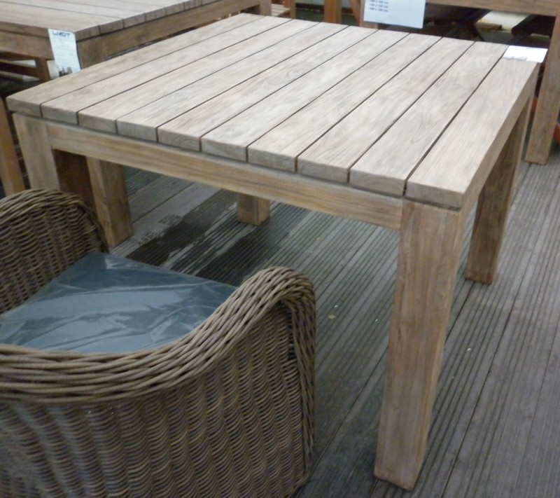 table de jardin 80x160