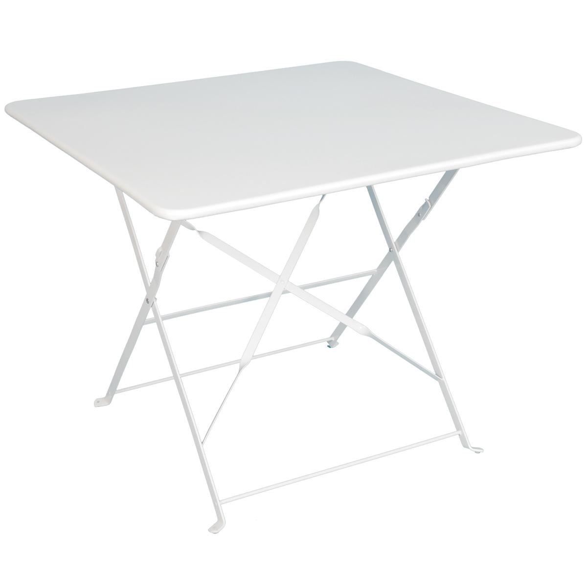table de jardin 90x90