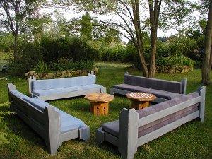 Amazing Comment Fabriquer Un Salon De Jardin En Bois Idees - Idées ...