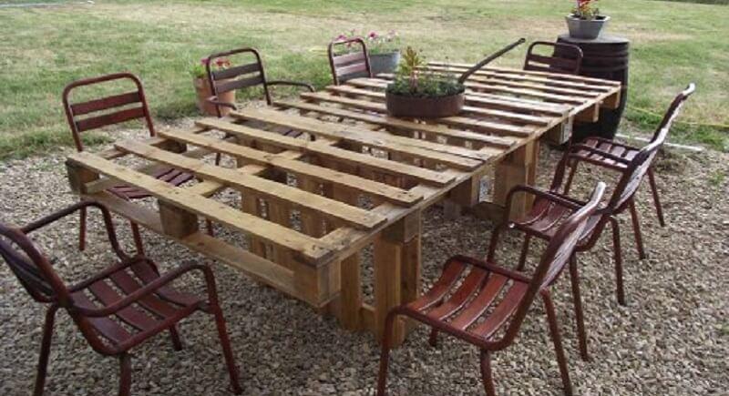 table de jardin a faire soi meme