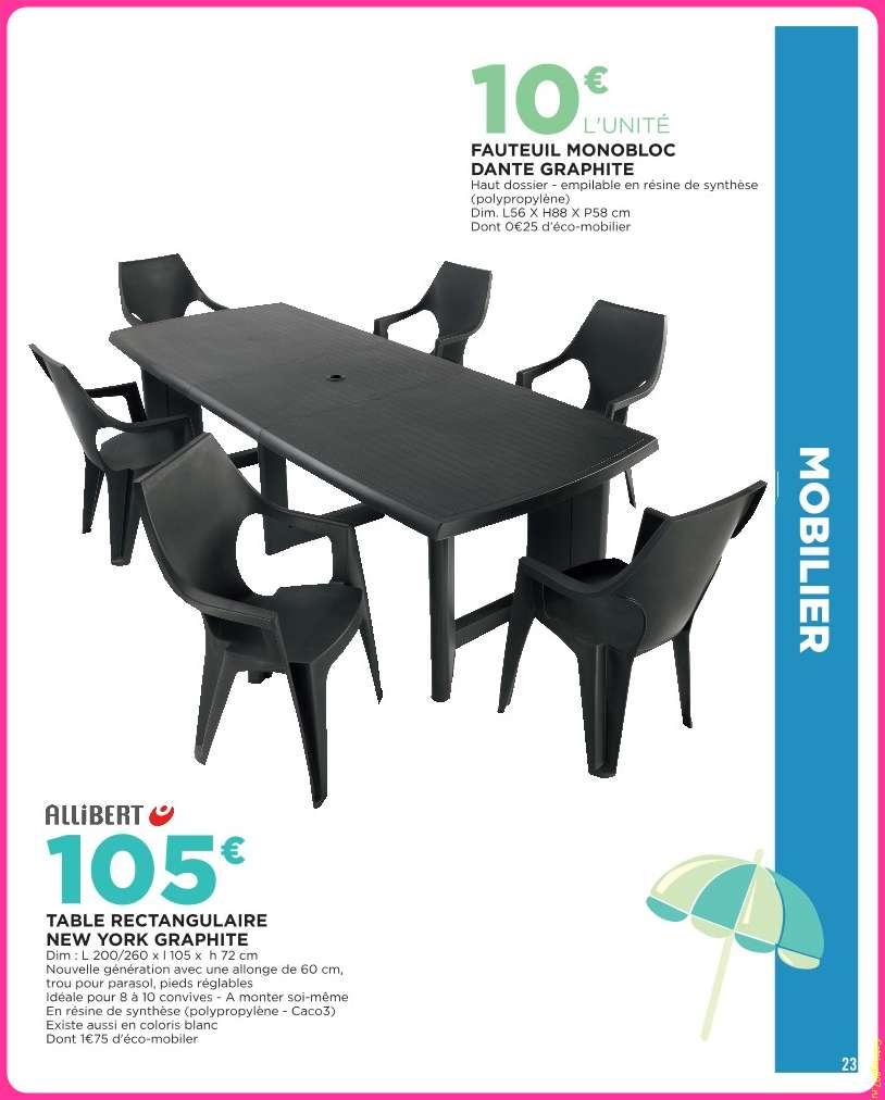 table de jardin a geant casino