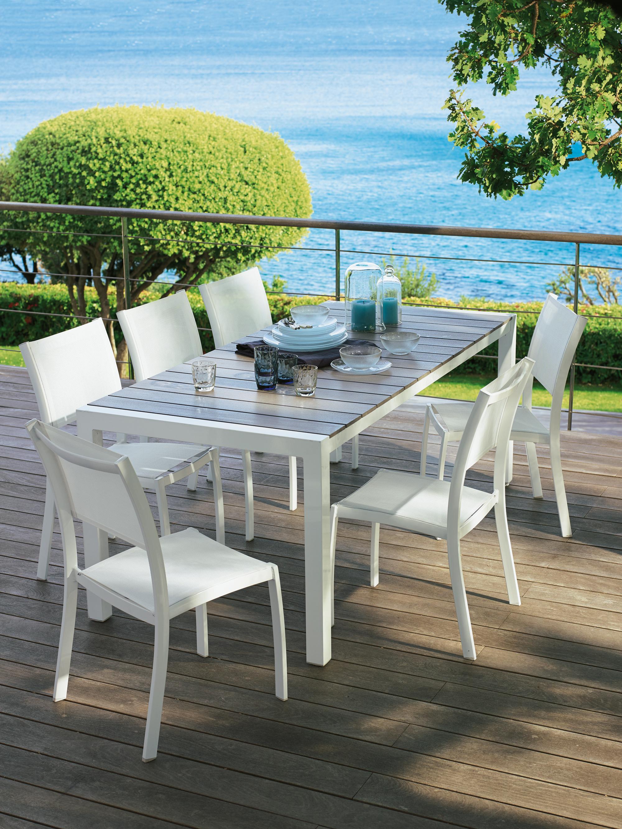 table de jardin a leclerc