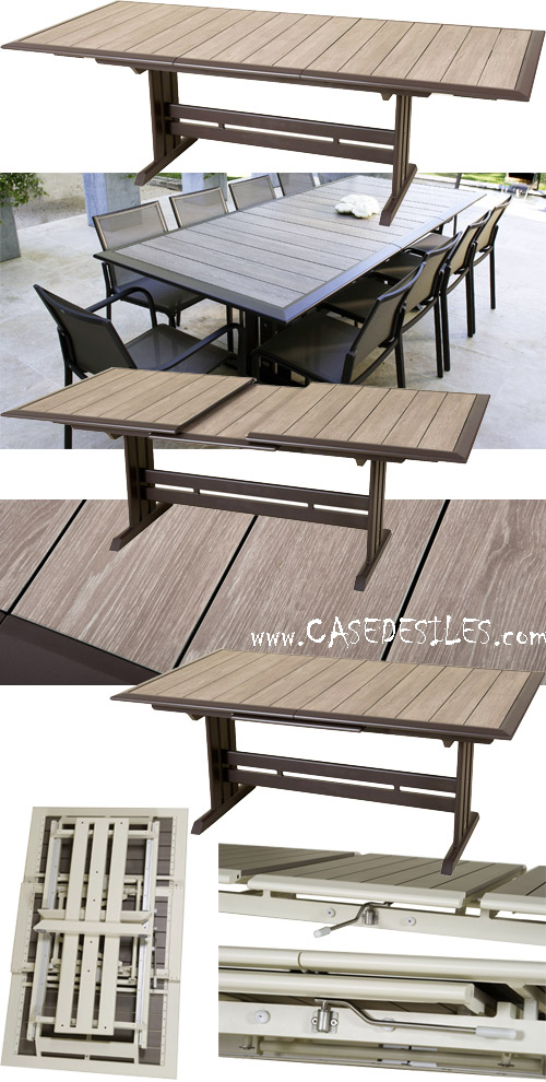 Beautiful Table Jardin Rallonge Solde Pictures - House ...
