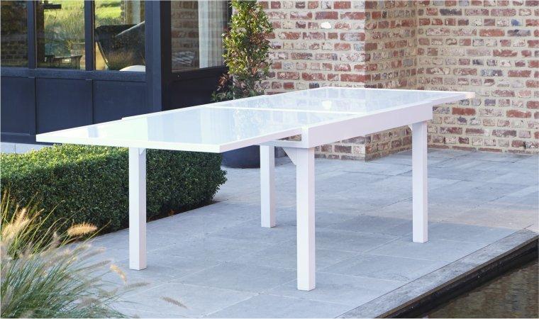 table de jardin a rallonge pas cher