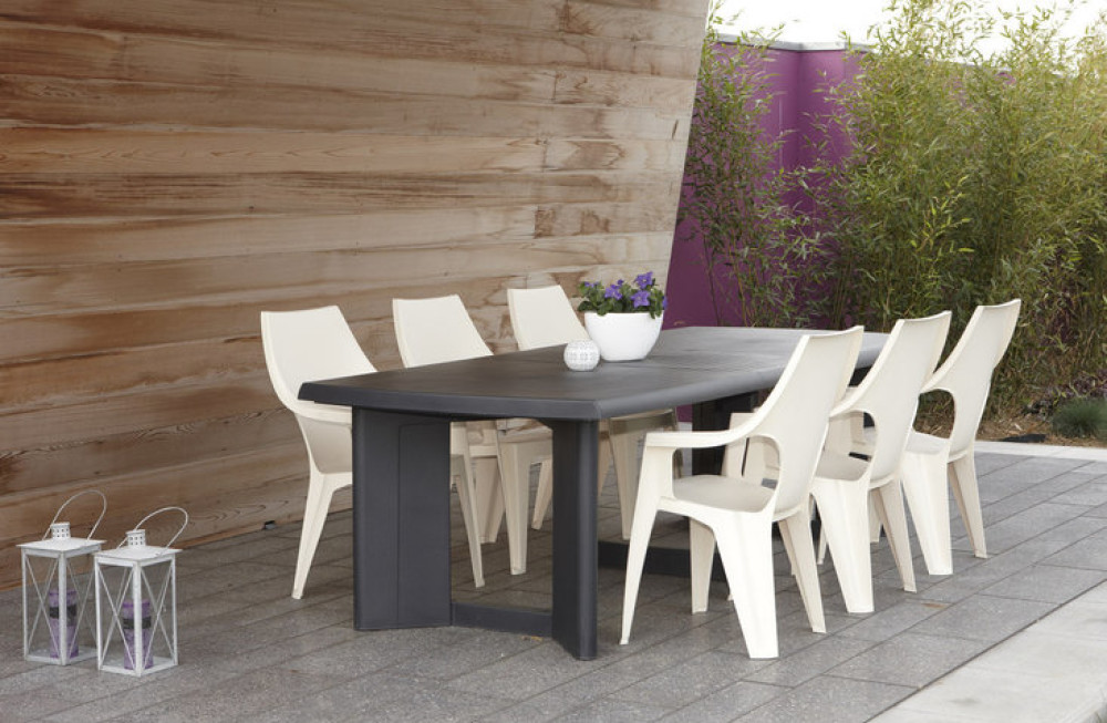 Jardin New 260 York Table Allibert De WrBCdexo
