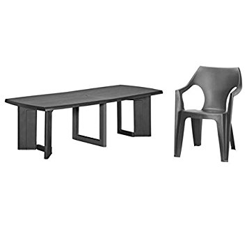 table de jardin allibert new york 260