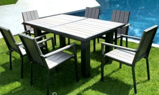 table de jardin aluminium cdiscount