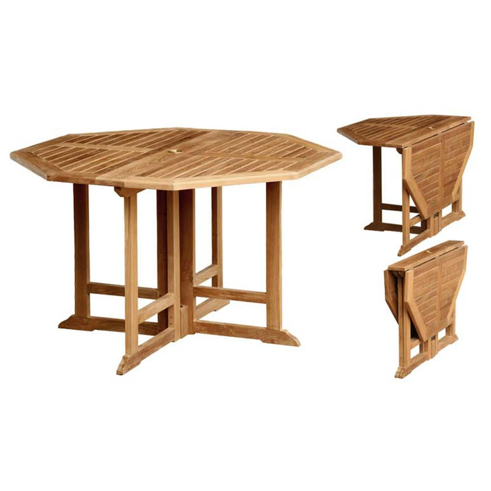 Best Table Jardin Teck Octogonale Ideas - House Design - marcomilone.com