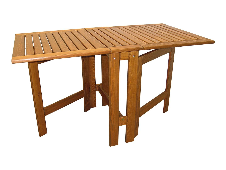 table de jardin bois pliante