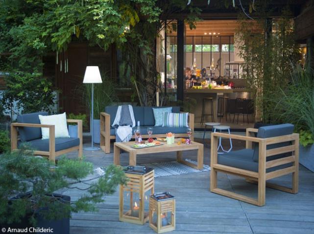 table de jardin botanic