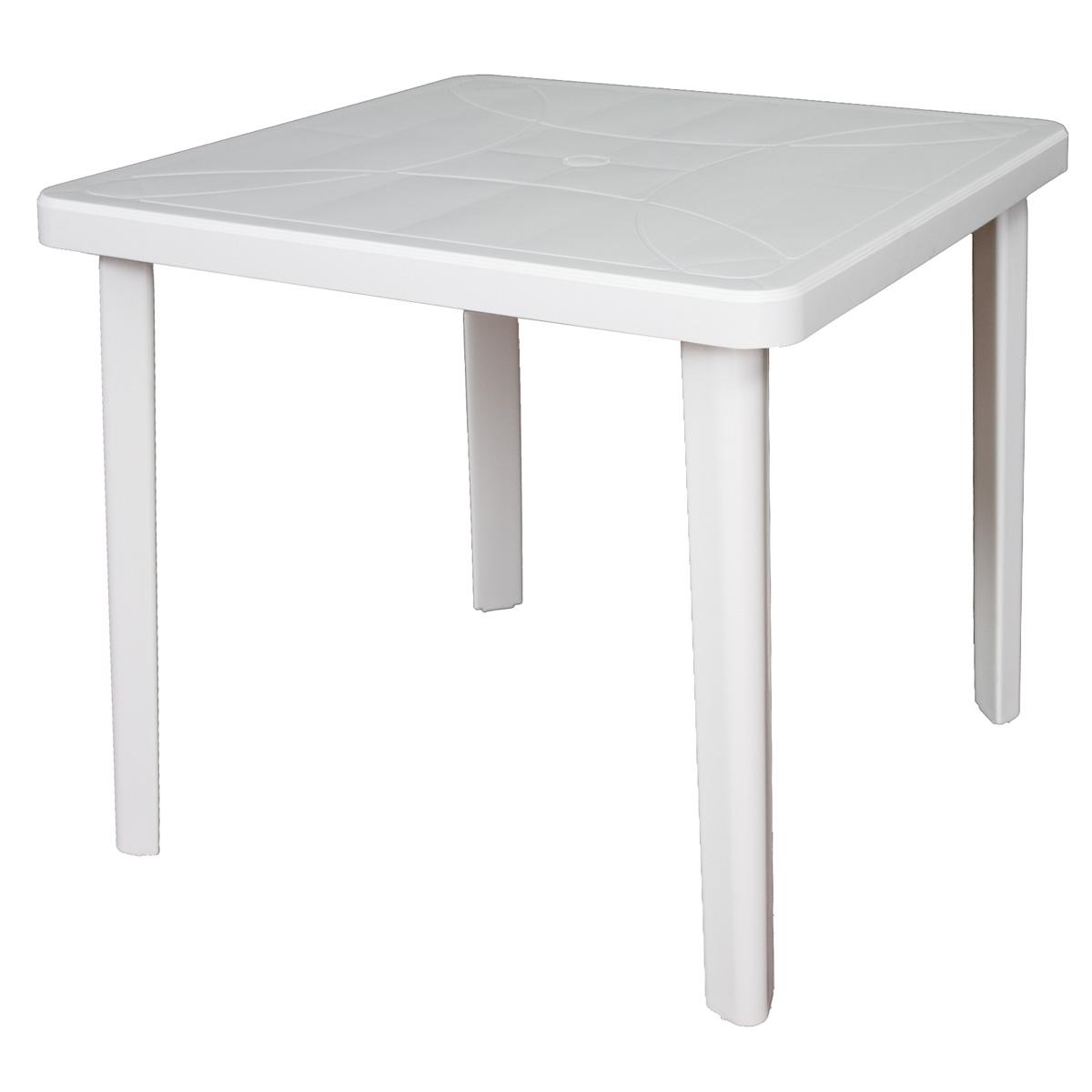 table de jardin carree 90x90