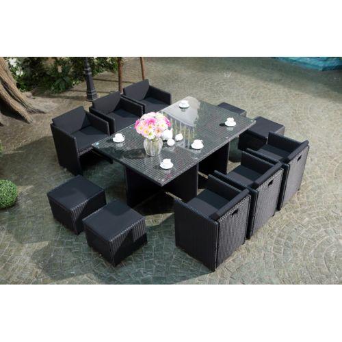 table de jardin concept usine