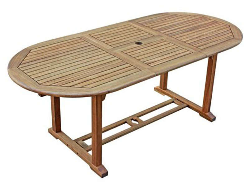 table de jardin conforama