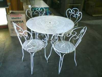 table de jardin d'occasion belgique