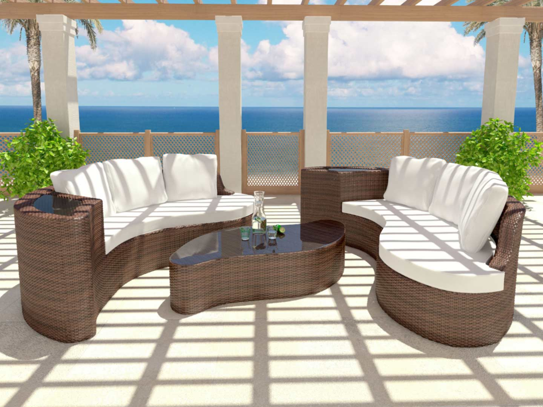 table de jardin de luxe