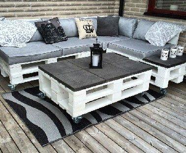 table de jardin dessus carrelage