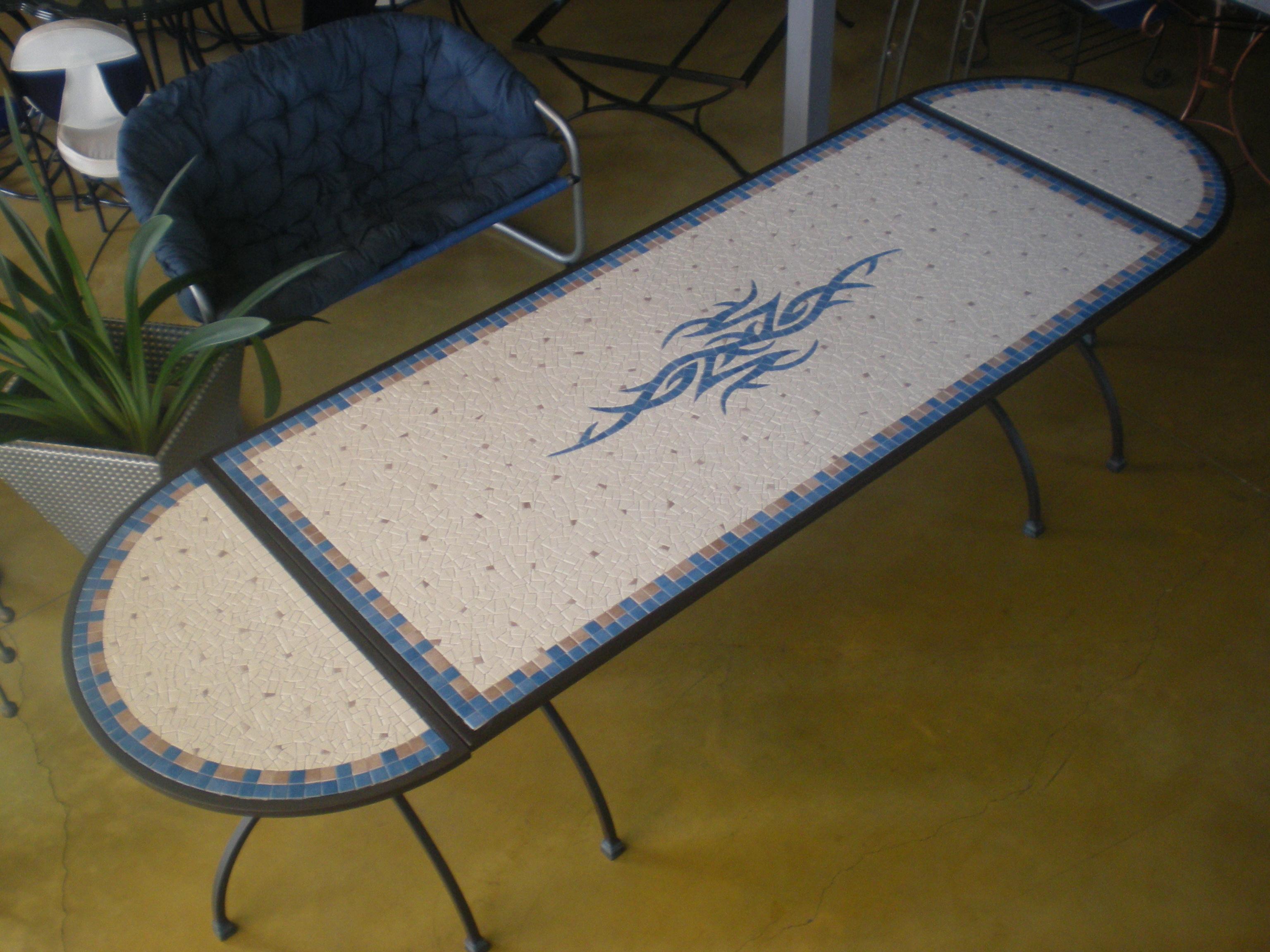 Stunning Grande Table Jardin Mosaique Images - House Design ...