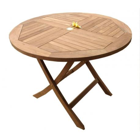 table de jardin diametre 50