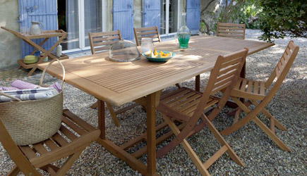 Stunning Table De Jardin En Bois Castorama Photos - House ...