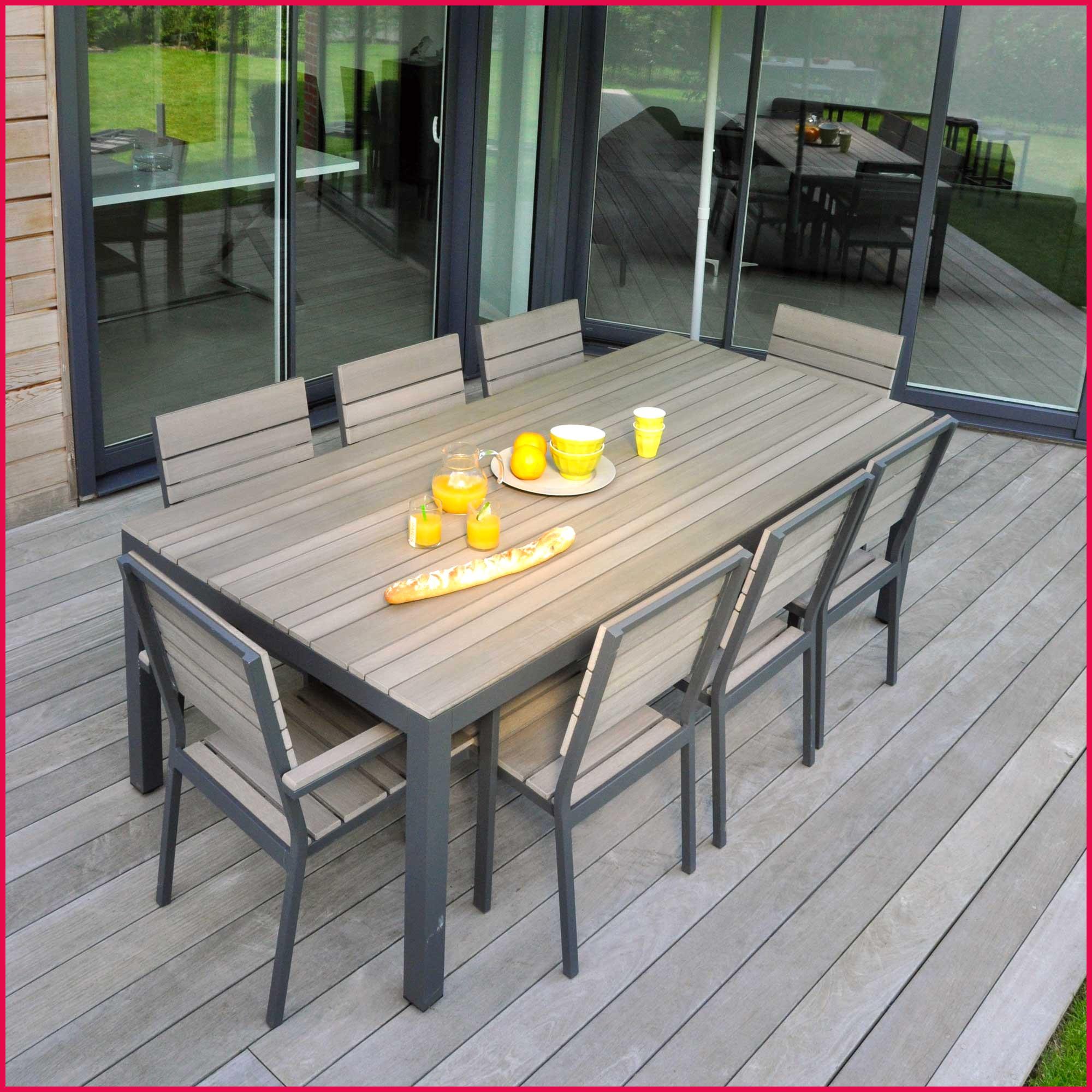 table de jardin en teck castorama