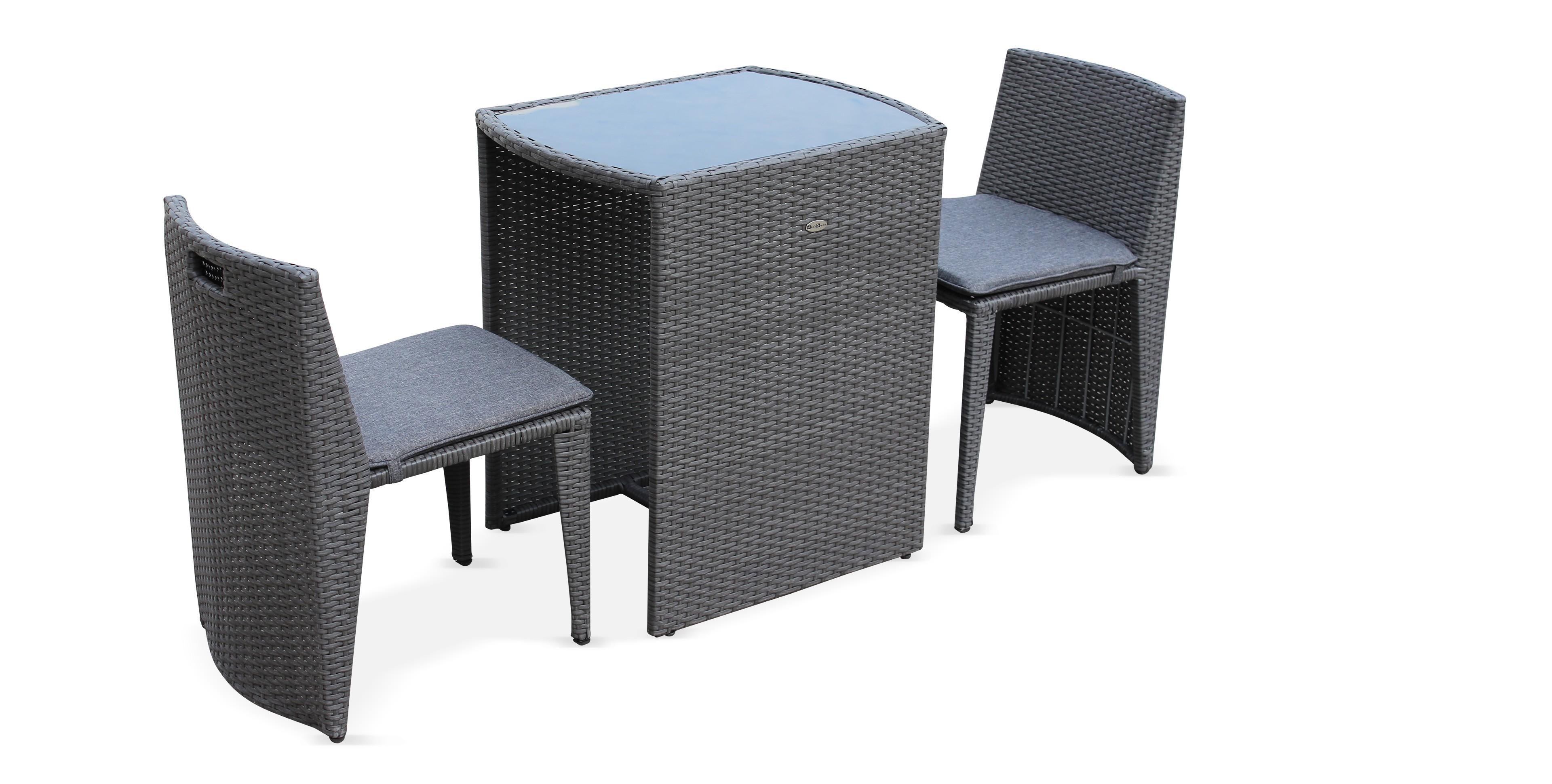 De Encastrable Places 2 Table Jardin Yybf6g7