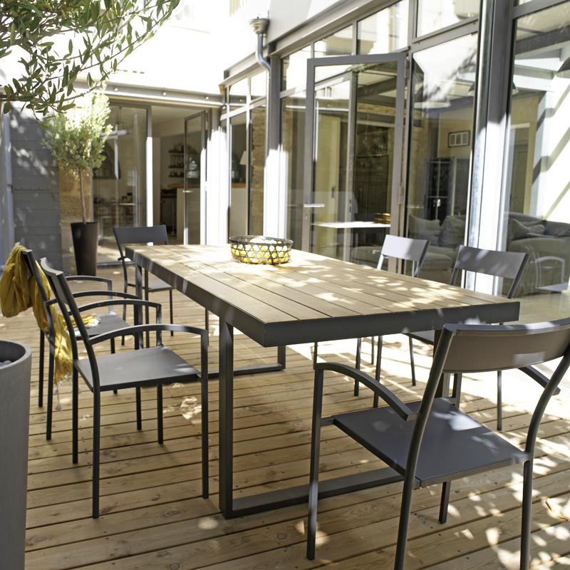 Castorama Jardin Table Chaises De Et wOPiTlXkZu