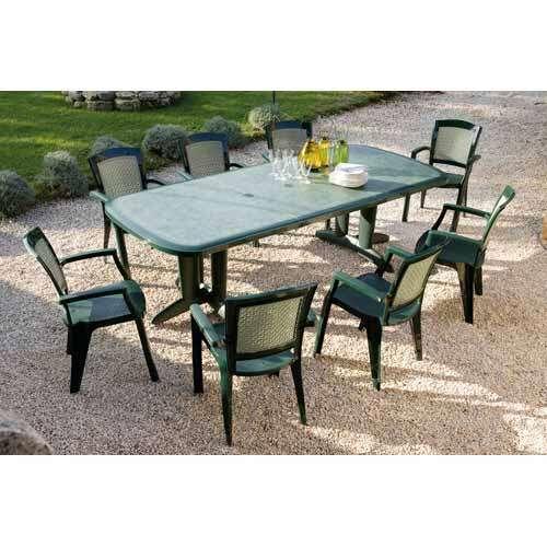 table de jardin evolutif