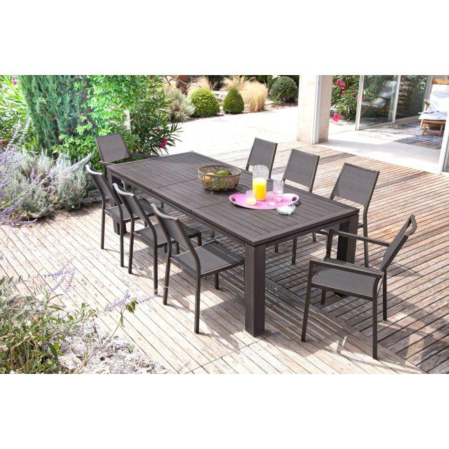 table de jardin extensible 3m