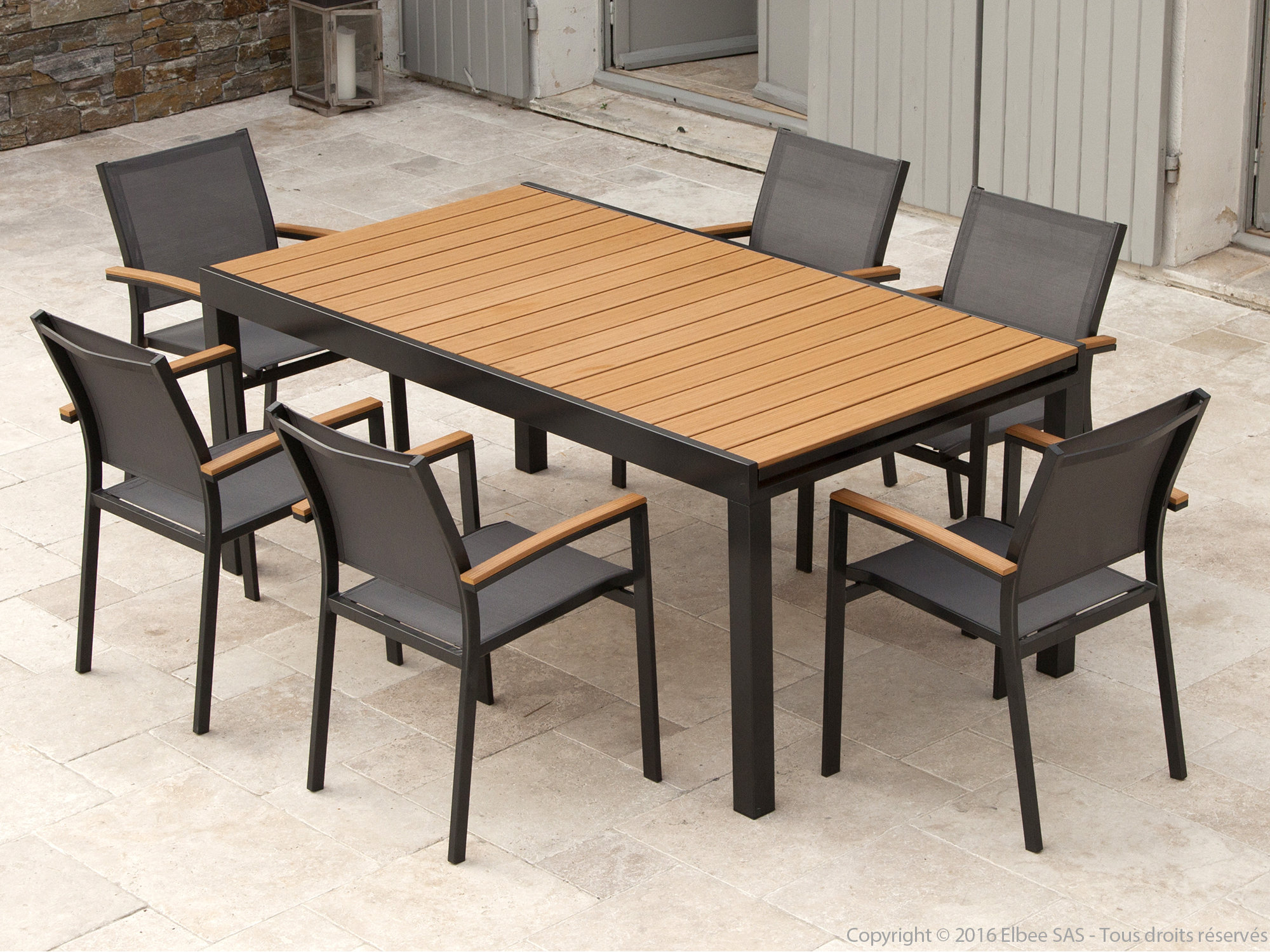 Best Table De Jardin Aluminium Jardiland Photos - House ...