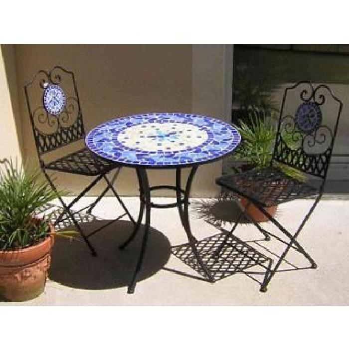 Beautiful Faire Une Table De Jardin En Mosaique Pictures ...