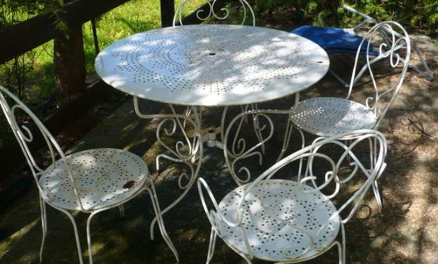 Fer Forge Jardin Occasion Table De rtsdhQ