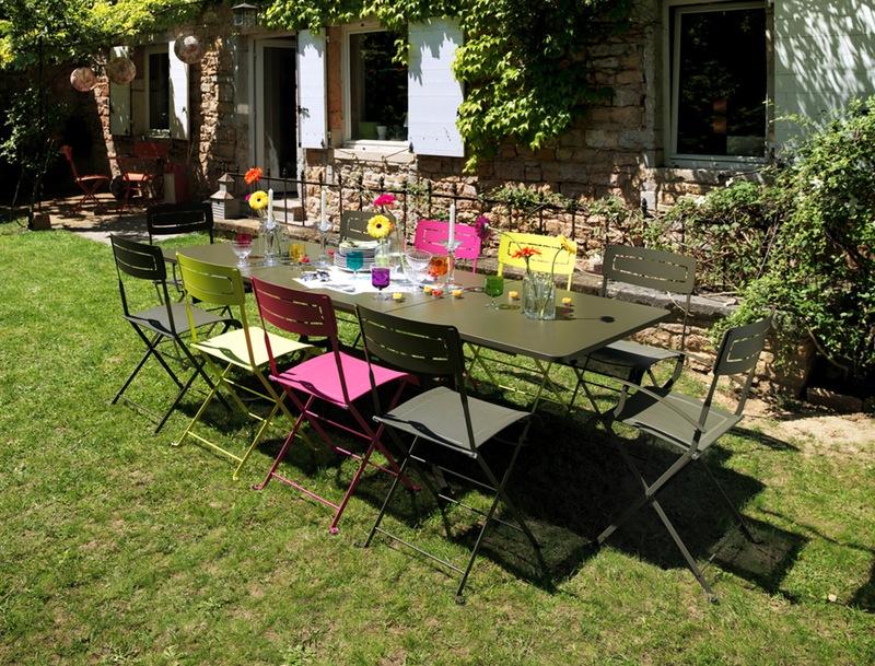 table de jardin fermob occasion