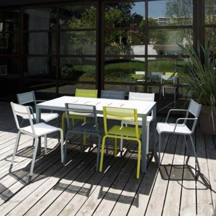table de jardin fermob oleron