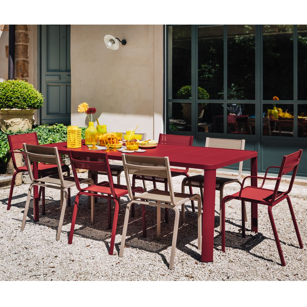 table de jardin fermob