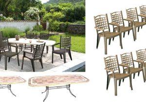table de jardin grosfillex castorama