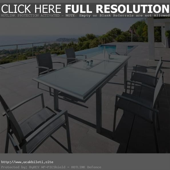 table de jardin hesperide en solde