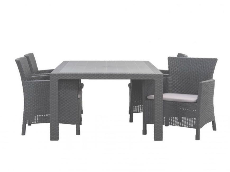 table de jardin hubo