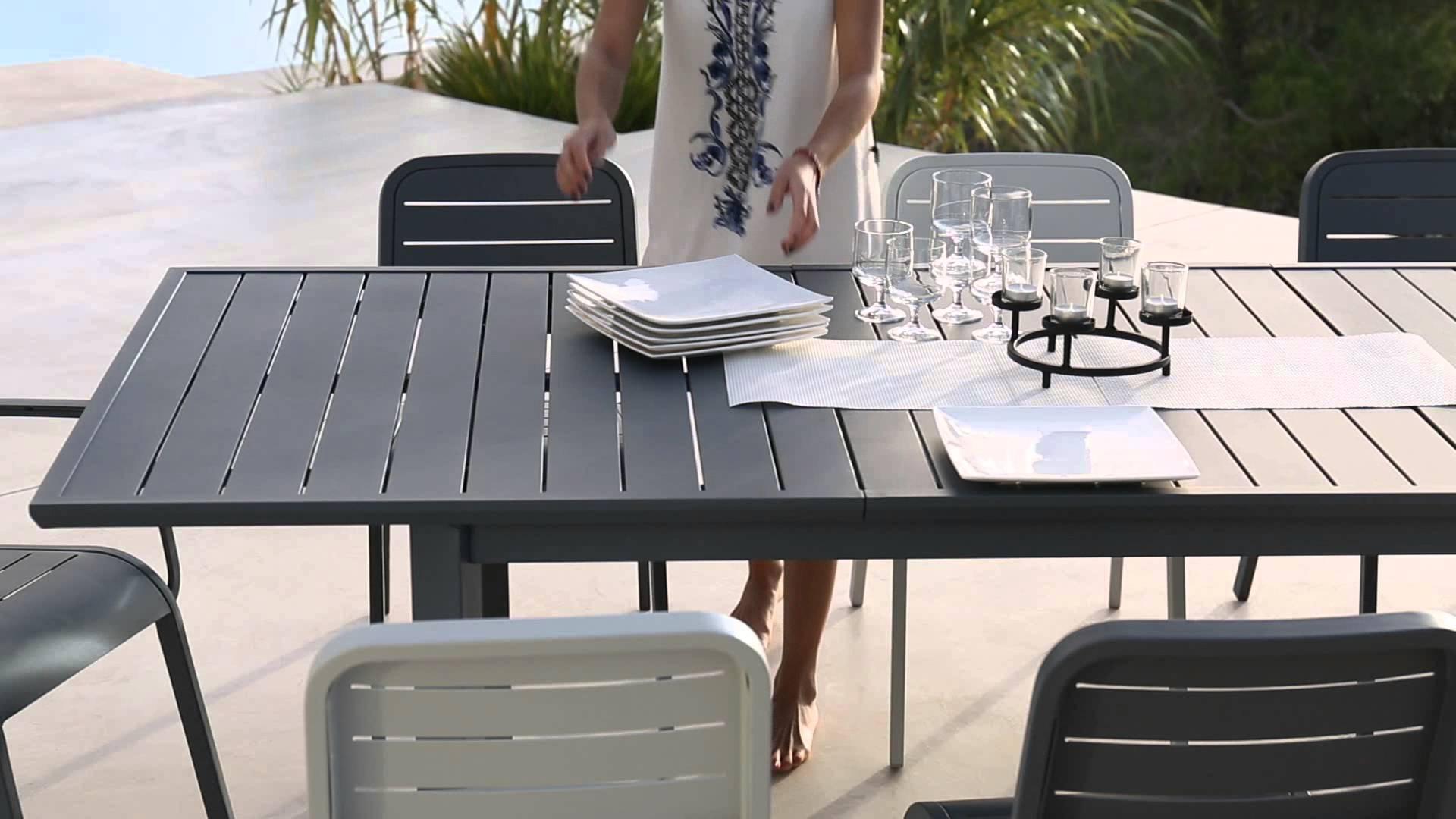 table de jardin hyba