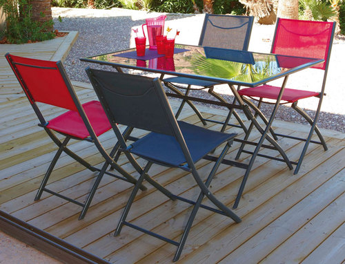 table de jardin hyper u
